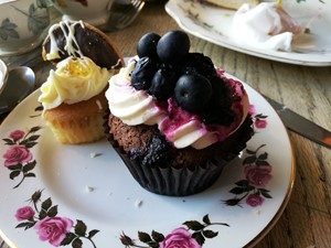 Cakes at the Olde Young Tea House