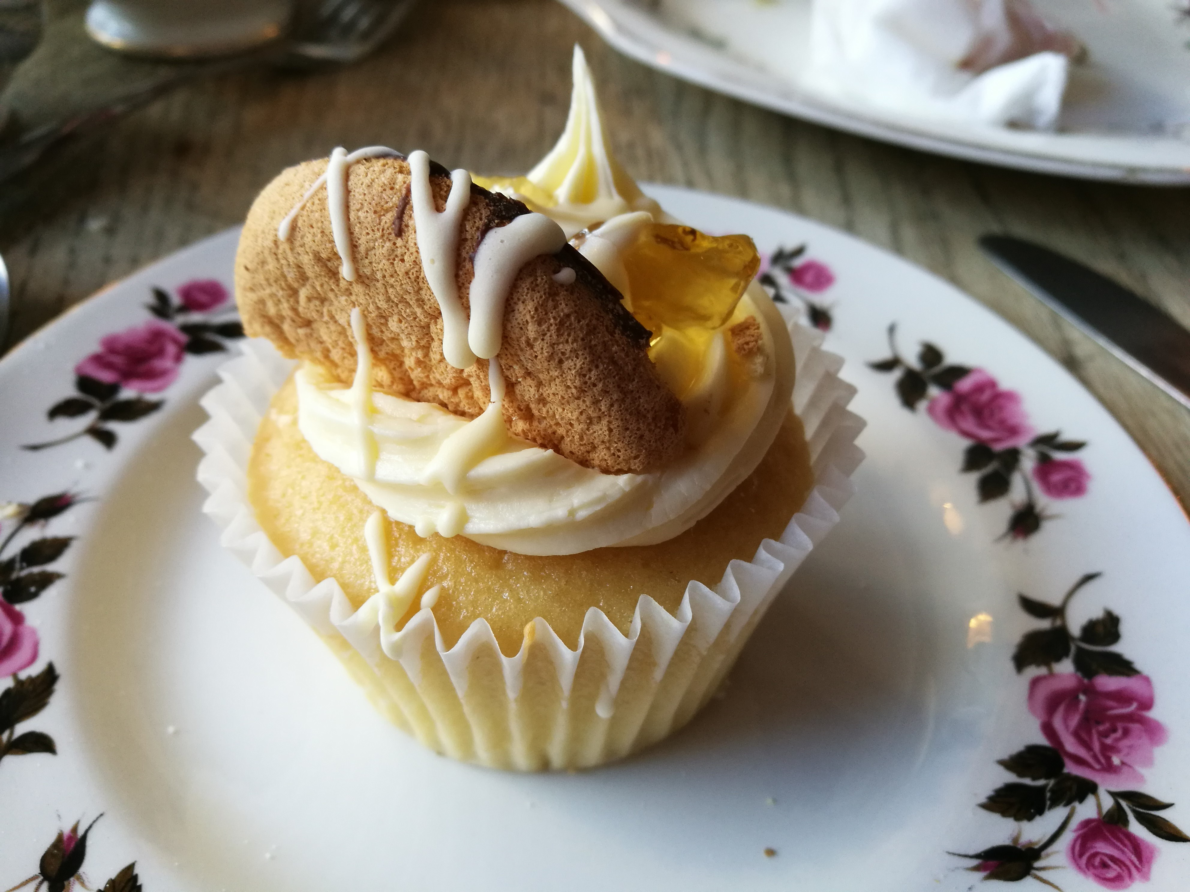 Jaffa cake cupcake Old Young Teahouse