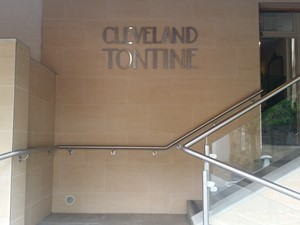 Front of the Cleveland Tontine