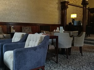 Drawing room at Crathorne Hall