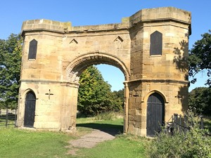 Toasting Gate at Kirkleatham