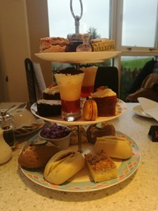 Afternoon tea at the Ingleby Barwick Bistro