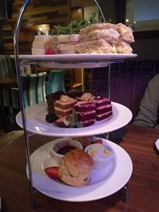 Afternoon tea at the Keys in Yarm