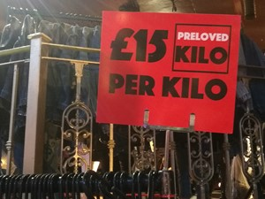Preloved Kilo sign
