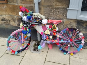 Yarnbomed bike