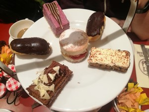 Cakes at Patisserie Valerie