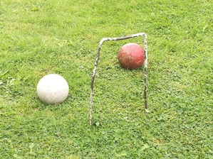 Croquet at Ormesby Hall