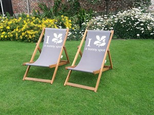 Deckchairs at Ormesby Hall