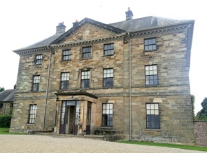 Front of Ormesby Hall