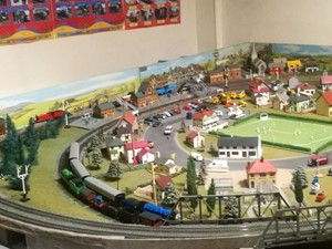 Model railway at Ormesby Hall