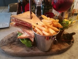 Club sandwich at 12 Harland Place