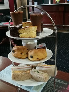 Afternoon tea at the Parkmore Hotel