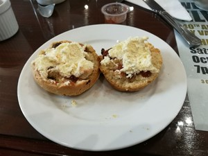 Scones at the Parkmore Hotel