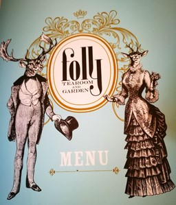 Folly tearoom menu