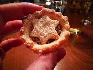 Mince pie at Chadwicks Inn at Maltby