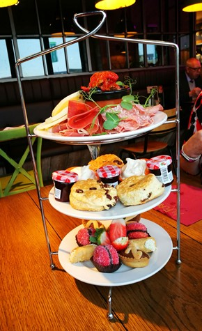 Afternoon tea at Al Forno