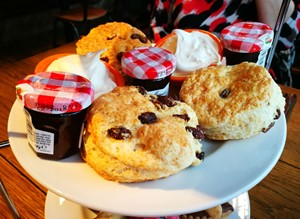Scones at Al Forno