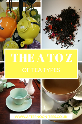 A to Z of tea types