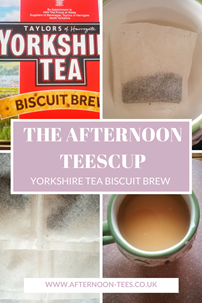 The Afternoon Teescup - Biscuit Brew