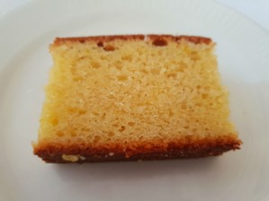 Lemon drizzle cake at Hardwicke Hall