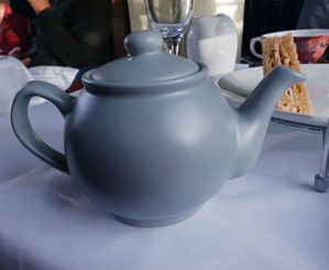 Teapot on Wensleydale railway