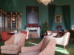 Christmas decorations at Wynyard Hall