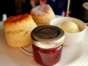 Scones and jam at Wynyard Hall