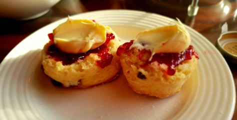 Scones at Wynyard Hall