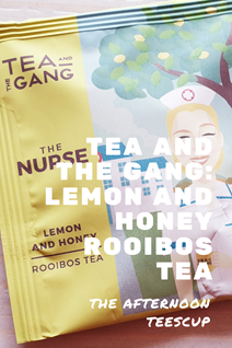 Lemon and honey rooibos tea Pinterest image