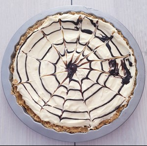 White chocolate and baileys cheesecake