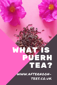 What is Puerh Tea Pinterest image